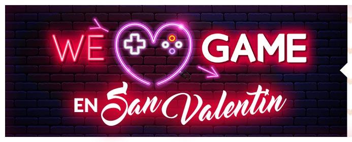 San Valentín en GAME