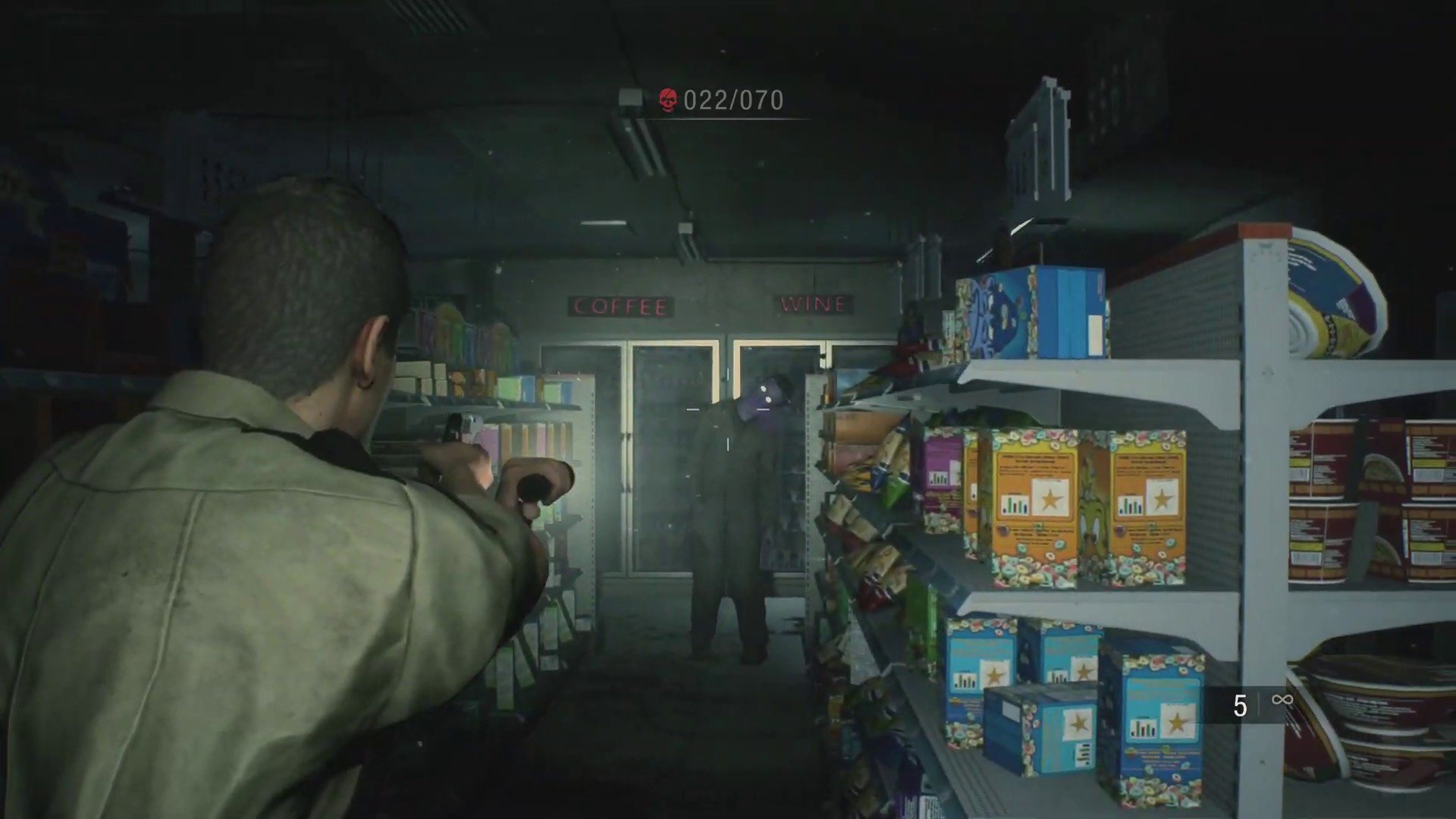 como desbloquear Sin Salida Resident Evil 2 Remake Ghost Survivors