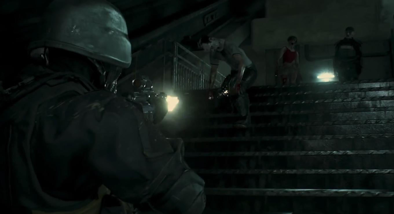 Soldado olvidado DLC Ghost Survivor Resident Evil 2