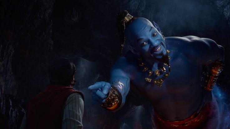 Aladdín - Will Smith como el Genio