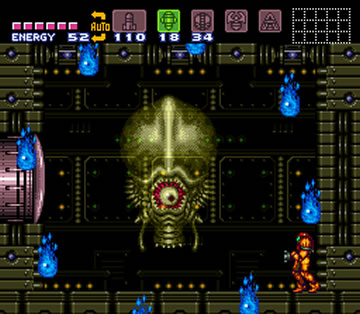 Super Metroid Phantoon