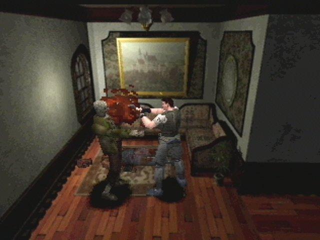 Resident Evil 1 PSX