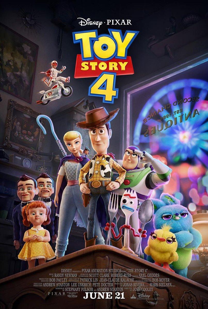 Toy Story 4 - Póster con los protagonistas
