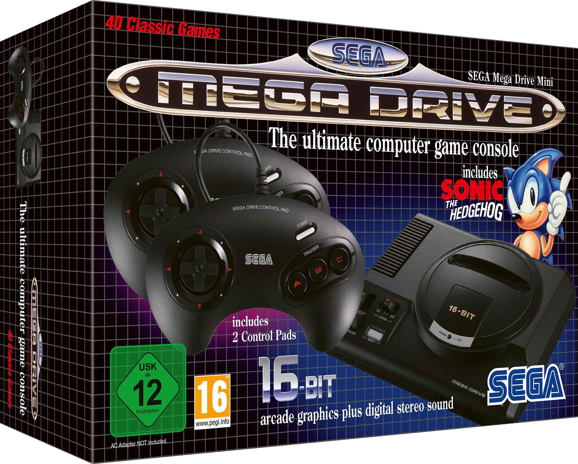Sega Mega Drive Mini Tendr 225 M 250 Sica Compuesta Por Yuzo