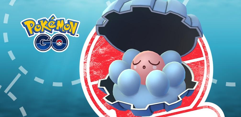 Clamperl Pokémon GO