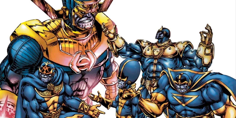 Los clones de Thanos