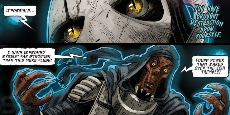Cómic Star Wars General Grievous