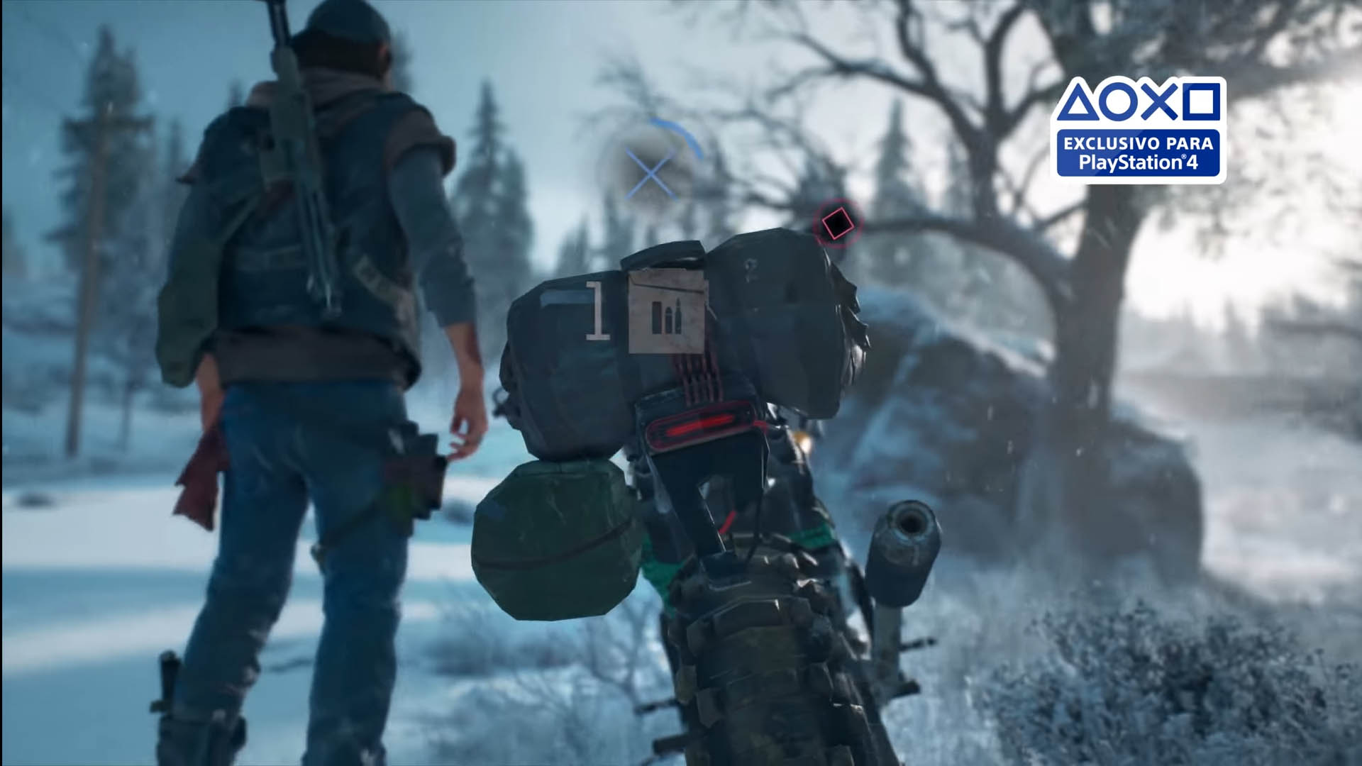Days Gone Promo PS MOTO