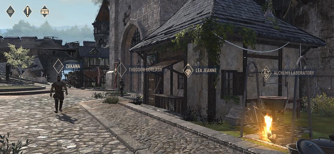 Elder Scrolls Town