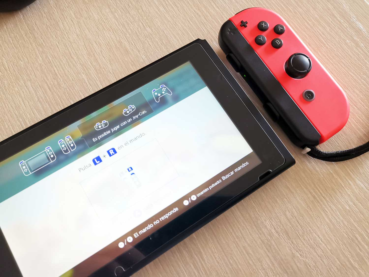 Errores Nintendo Switch