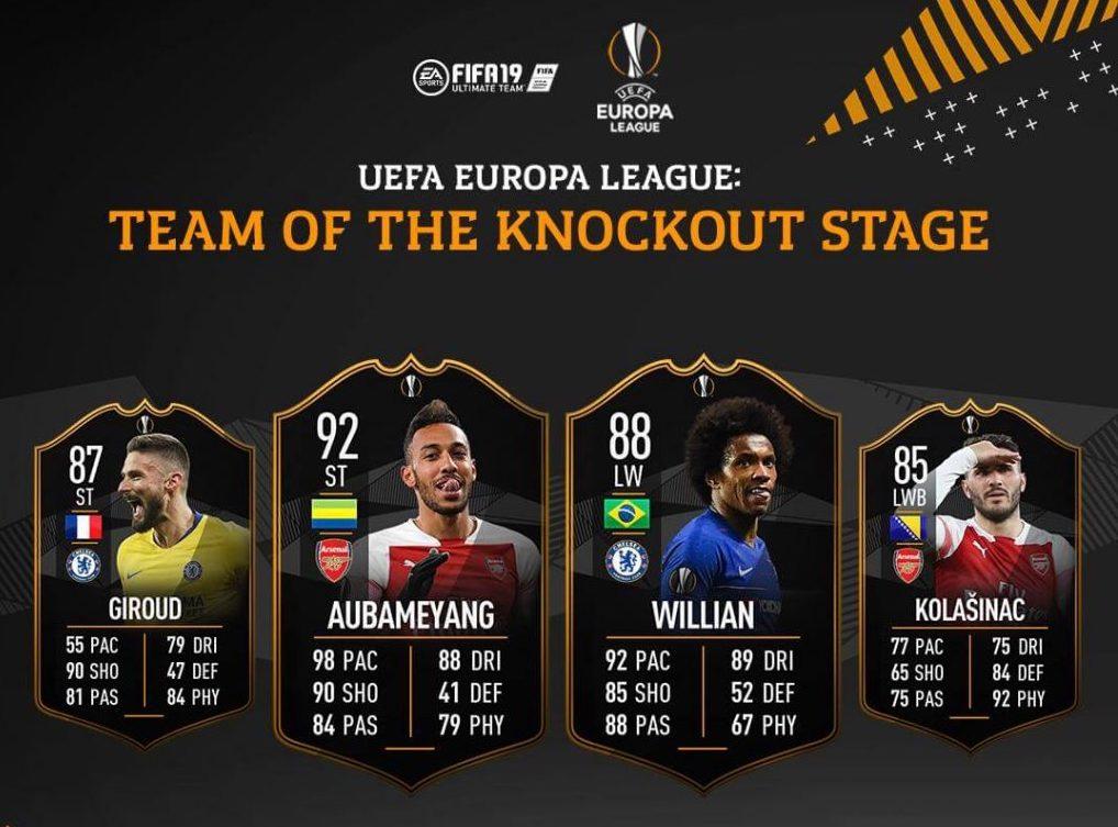 FIFA 19 Jugadores Ultimate TEam