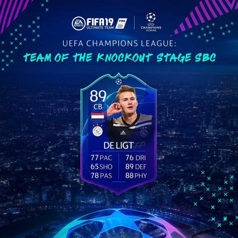 Fifa 19 De Ligt Ultimate Team