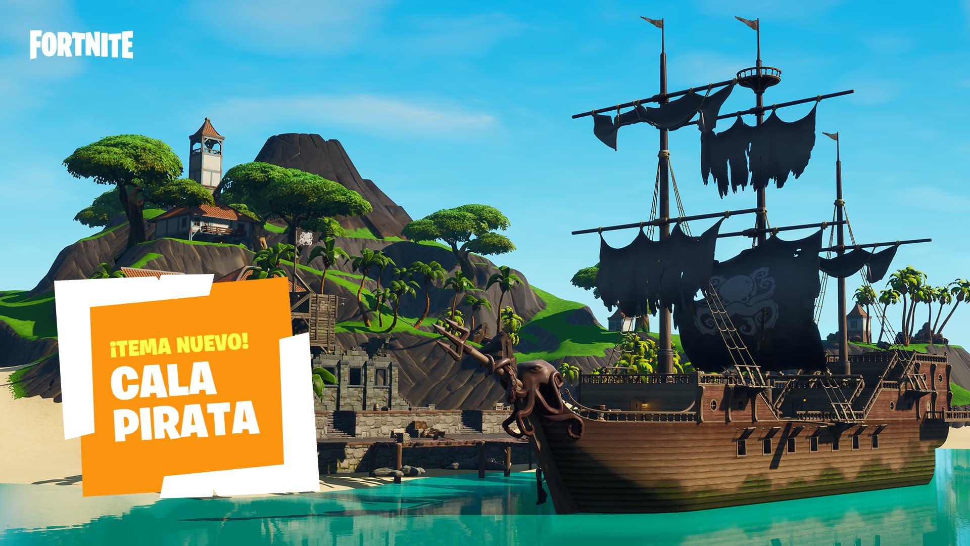 Fortnite Cala Pirata