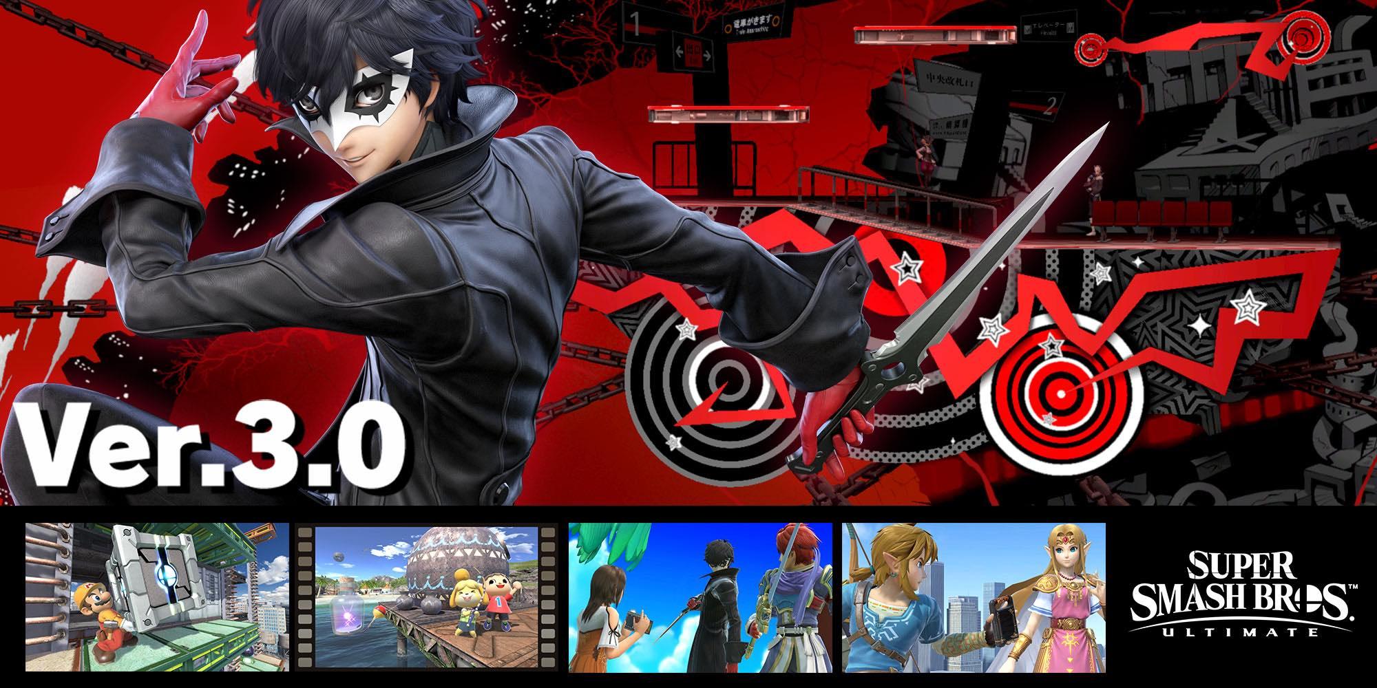 Joker de Persona 5 en Super Smash Bros Ultimate