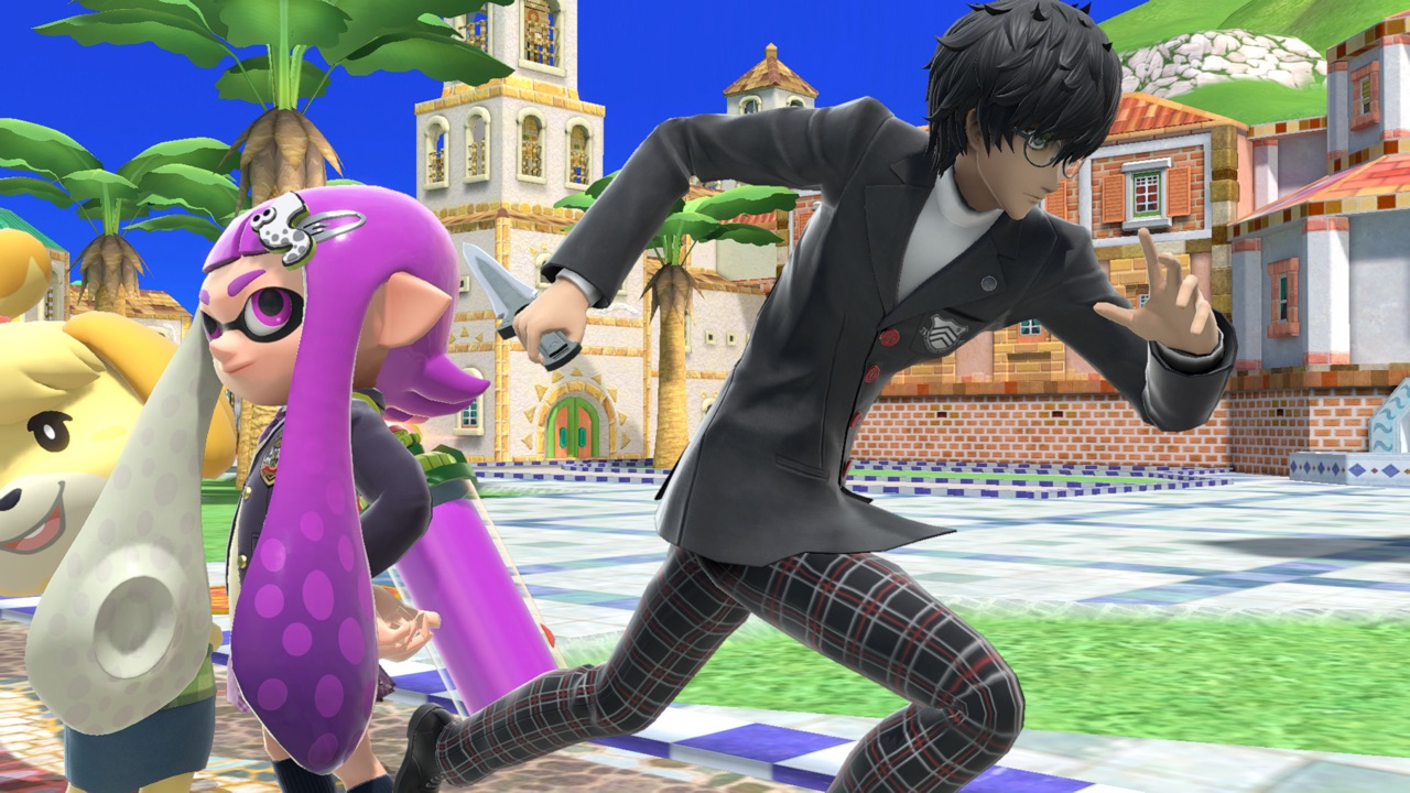 Joker en Super Smash Bros Ultimate Nintendo Switch