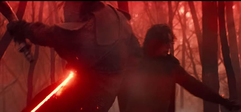 Kylo Ren en el tráiler de Star Wars Episodio 9