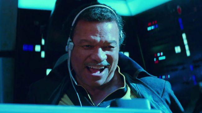 Lando Calrissian en Star Wars: The Rise of Skywalker