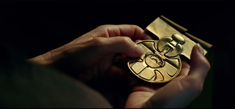 Medalla de Luke de Episodio IV
