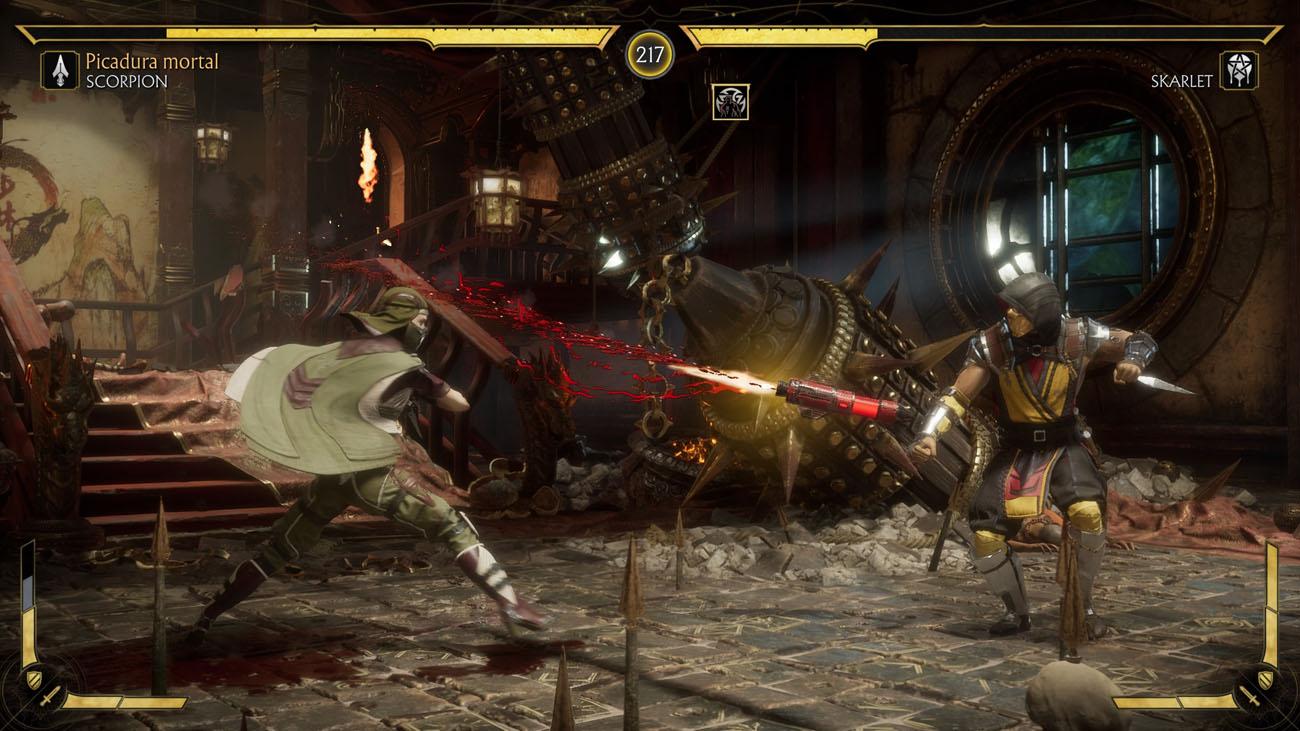 Mortal kombat 11 - Torres