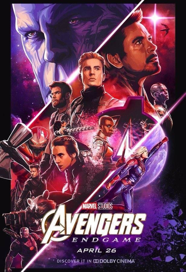 Nuevos pósters de Vengadores Endgame