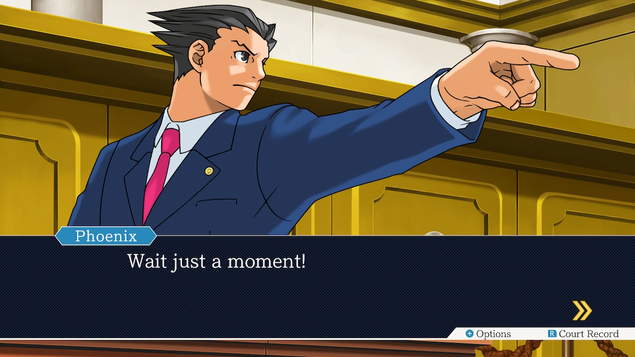 Phoenix Wright Ace Attorney Trilogy Switch