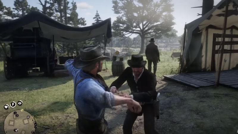 Reacciones campamento Red Dead Redemption 2