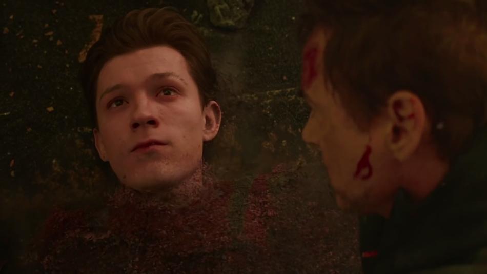 Vengadores: Infinity War - Muerte de Spider-Man