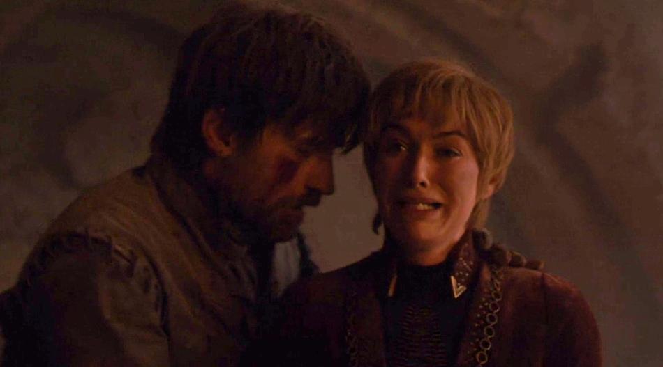 Juego de Tronos 8x05 - Jaime y Cersei Lannister
