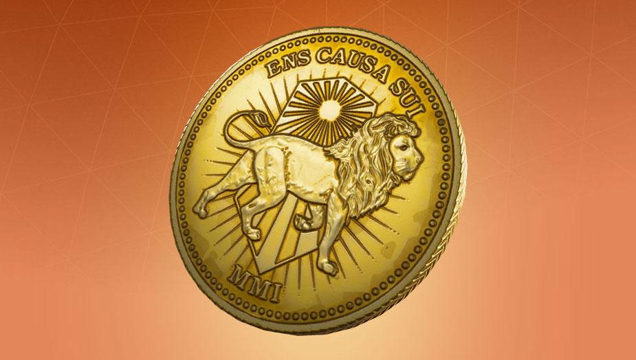 Moneda de Oro de John Wick en Fortnite