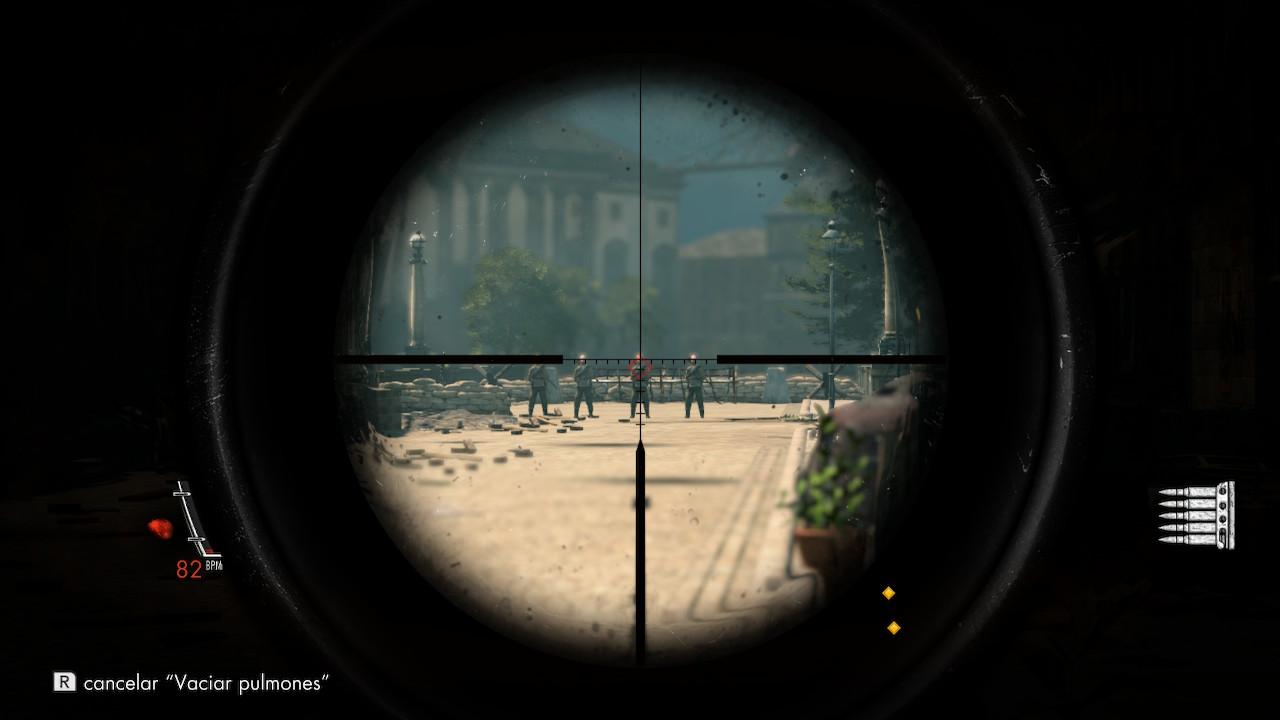 sniper elite V2 switch 5