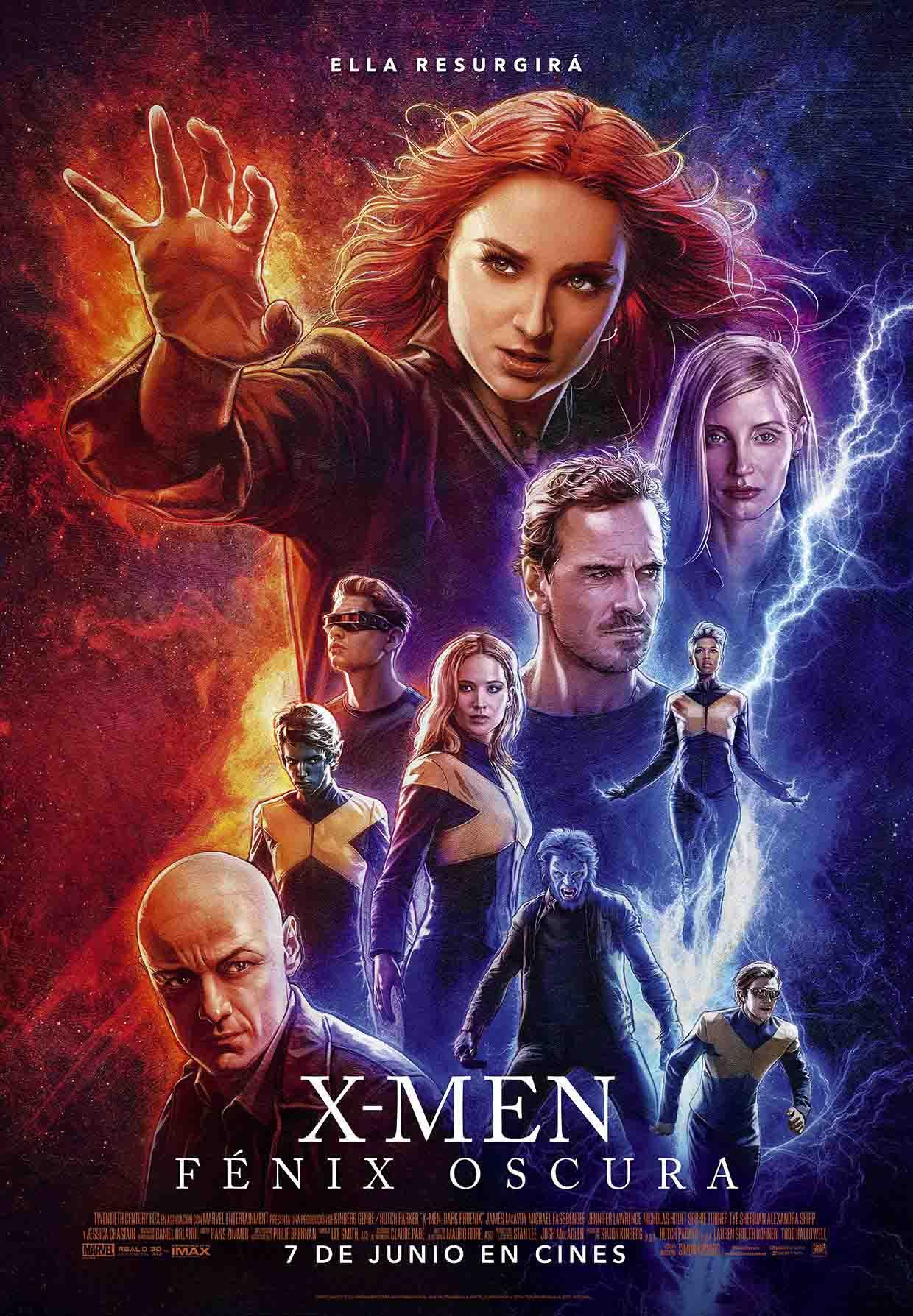 X-Men Fenix Oscura poster