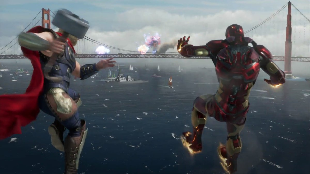 Marvel's Avengers, captura de pantalla juego