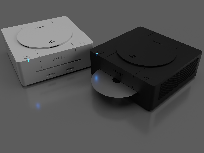 Así de precioso es el diseño de PS5 de un fan que recuerda a Dreamcast -  HobbyConsolas Juegos