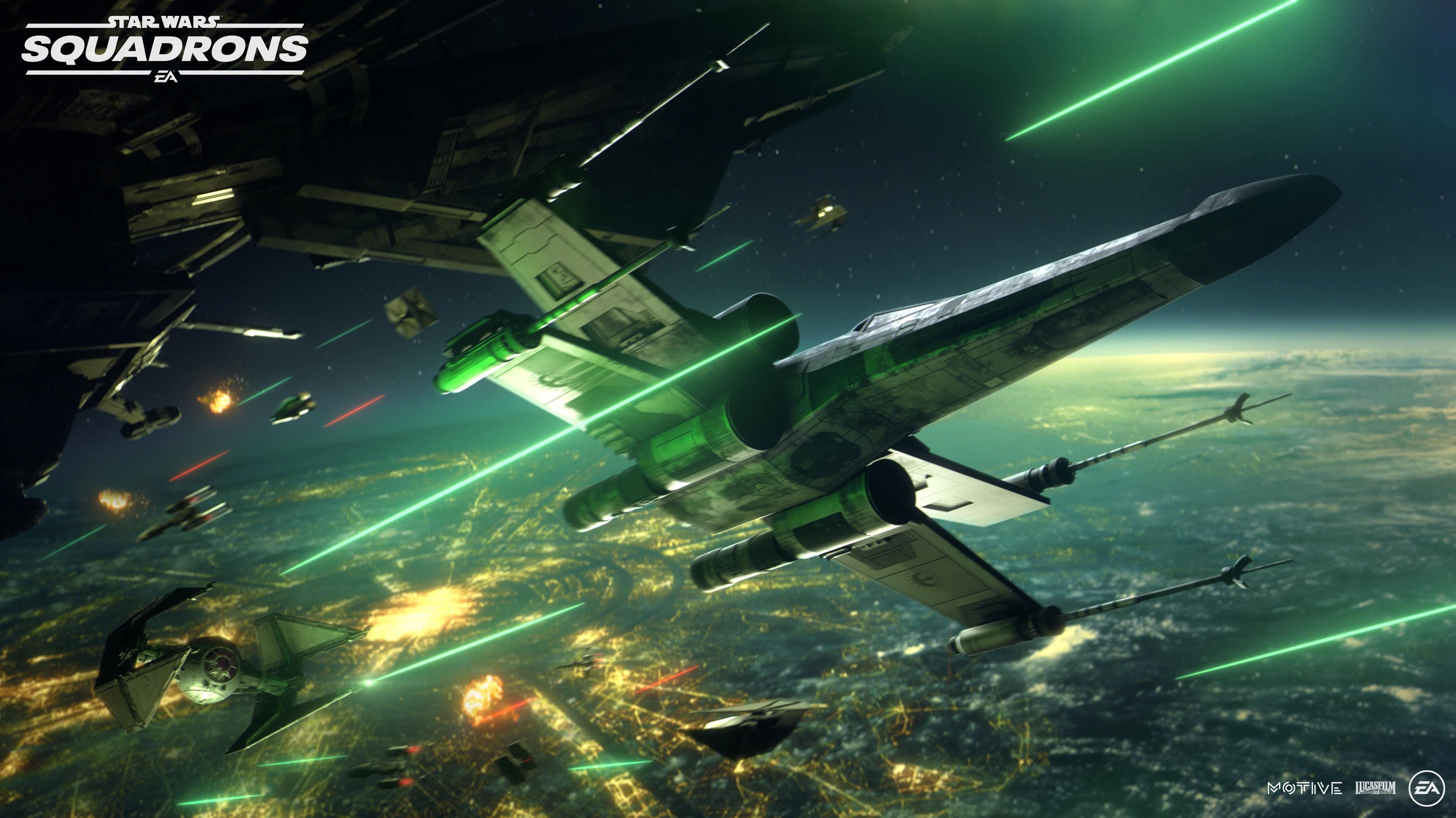 Tráiler y detalles de Star Wars Squadrons: batallas espaciales con ...