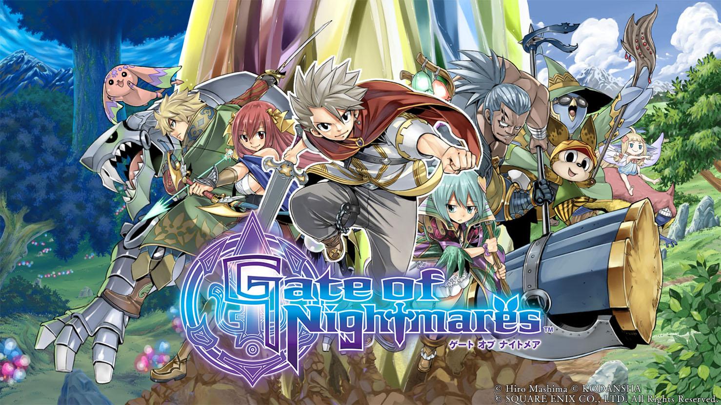Fairy Tail, anuncian Gate of  Nightmares, nuevo RPG  de Square Enix
