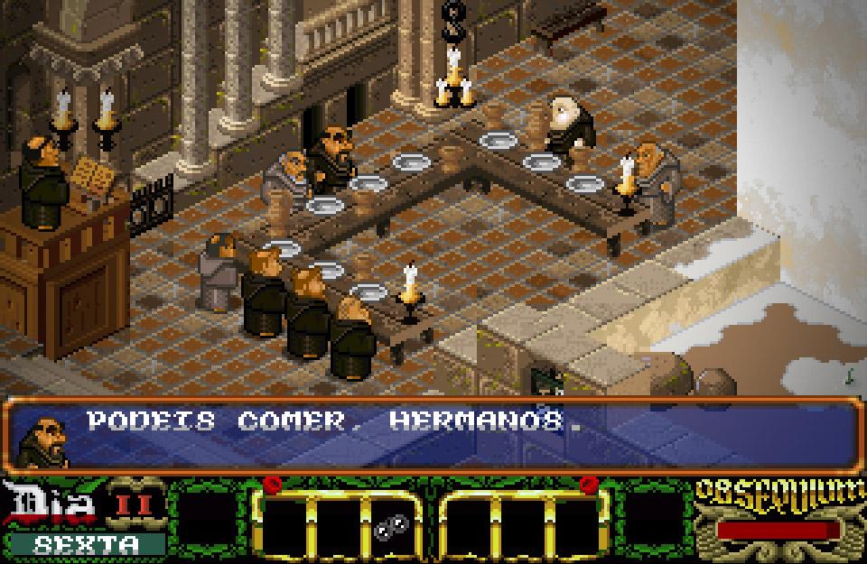 La Abadía del Crimen: Extensum - captura