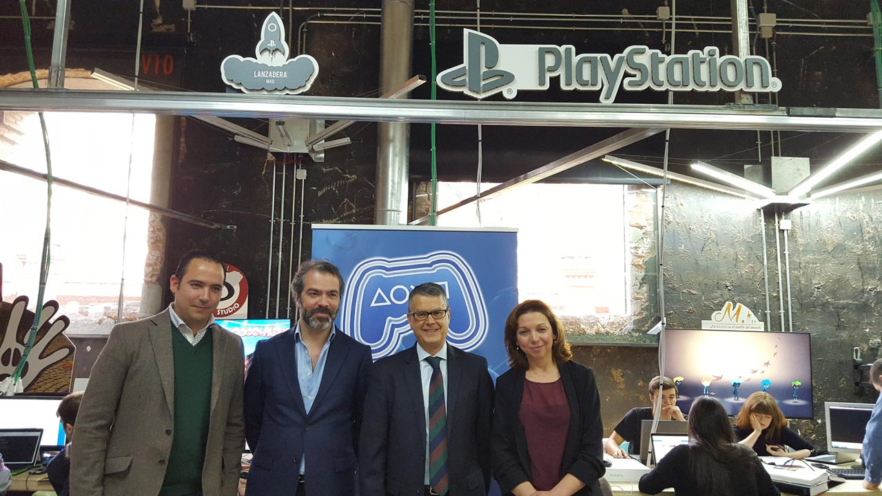 Ayuntamiento visita PlayStation Talents Games Camp