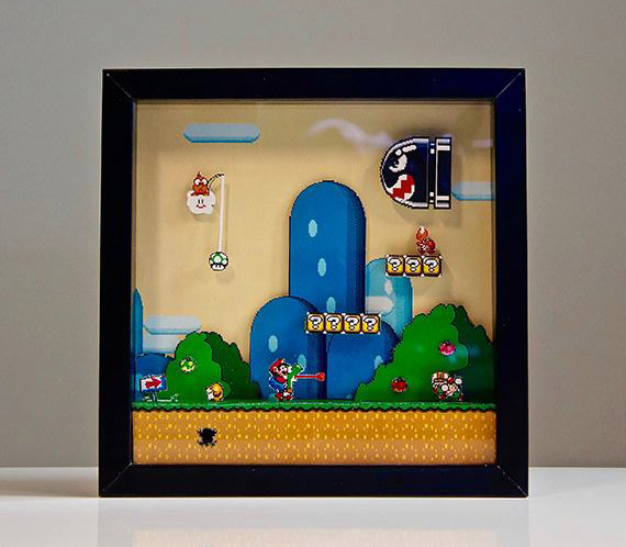 Cuadros Pixel - Super Mario World