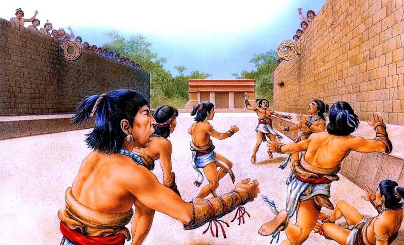 Deporte de pelota mesoamericano, base de Moerakis