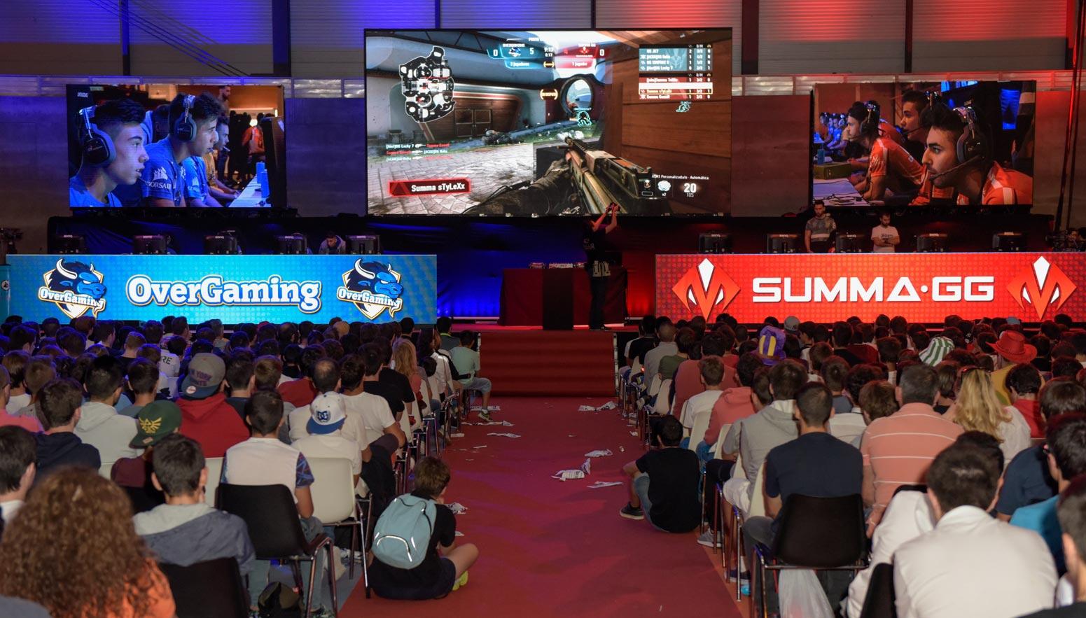 Los eSports serán muy importantes en Madrid Gaming Experience