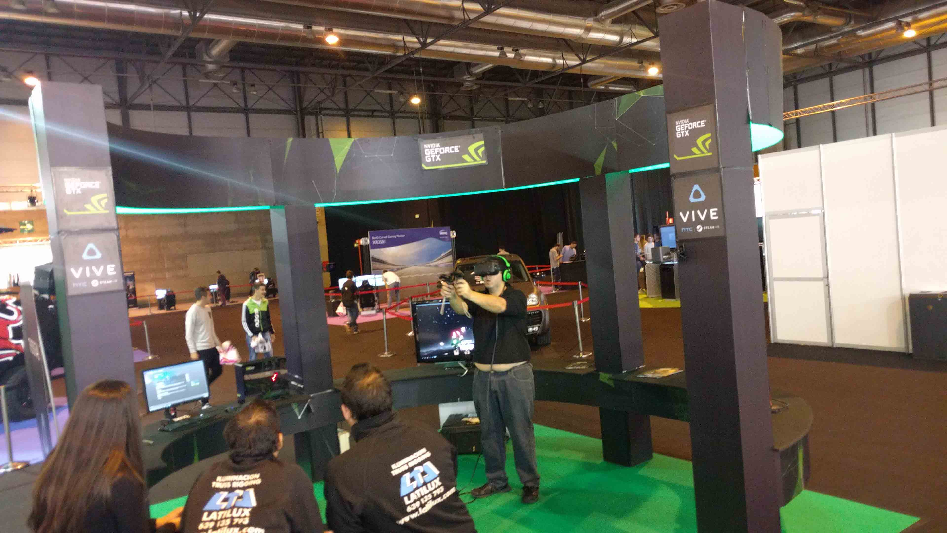Game.es Madrid AUTO 2016 Game eSports Realida Virtual