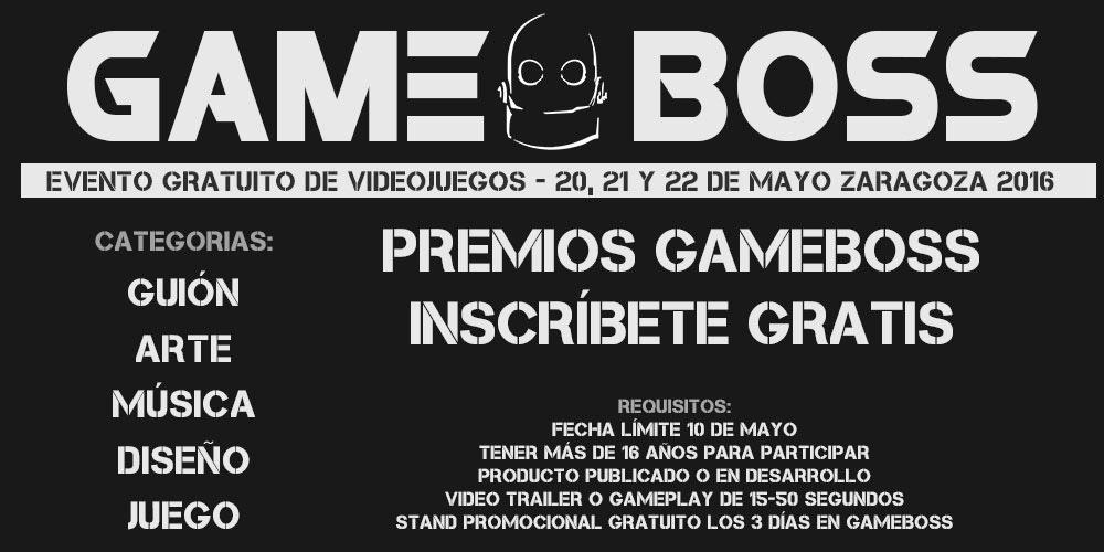 Gameboss 2016 - Premios