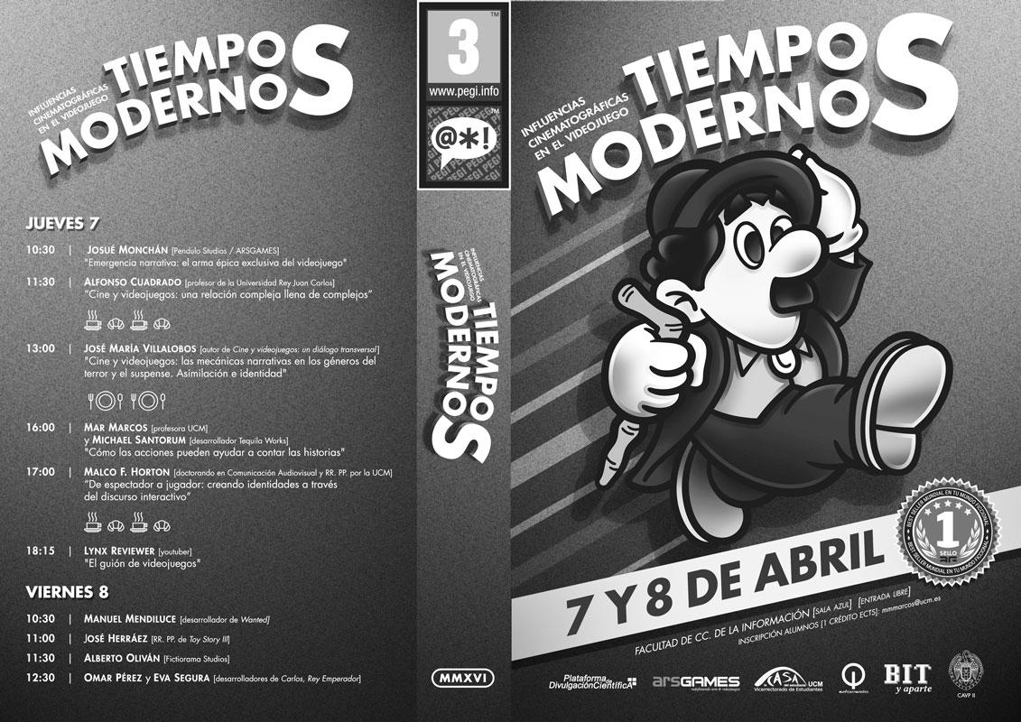 Jornadas Cine y Videojuegos - Programa