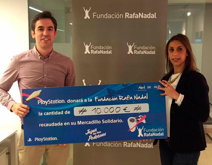 Mercadillo Solidario PlayStation - Fundación Rafa Nadal