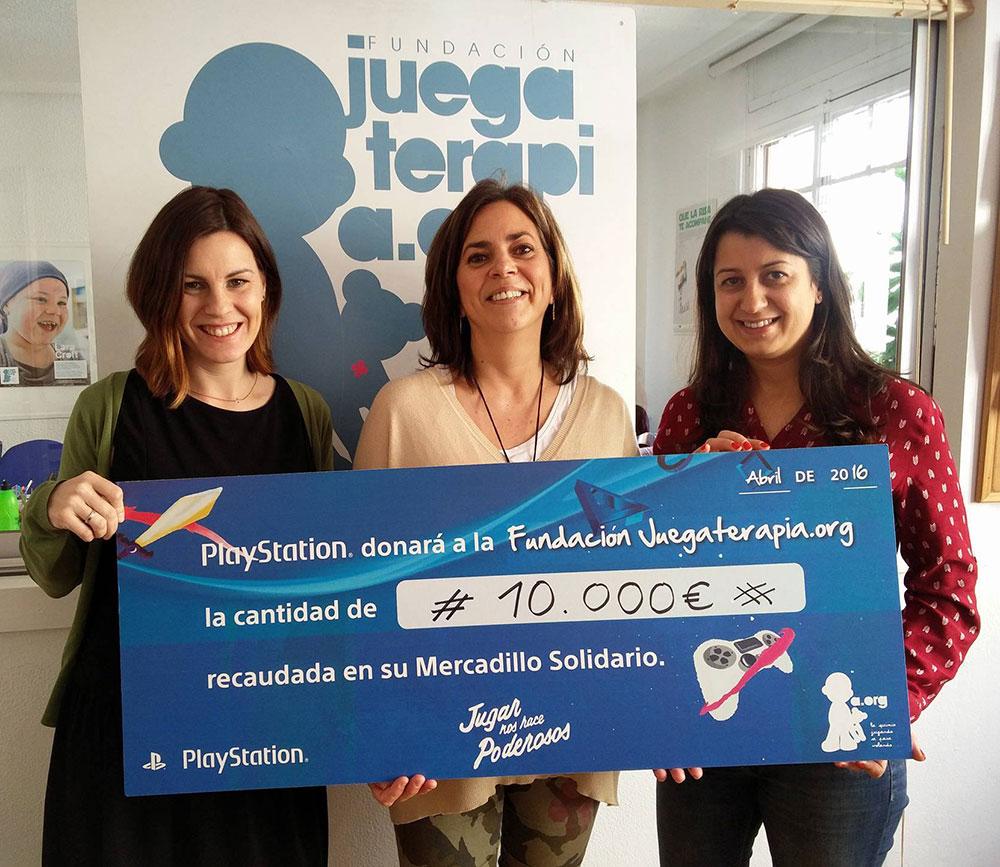 Mercadillo Solidario PlayStation - Juegaterapia