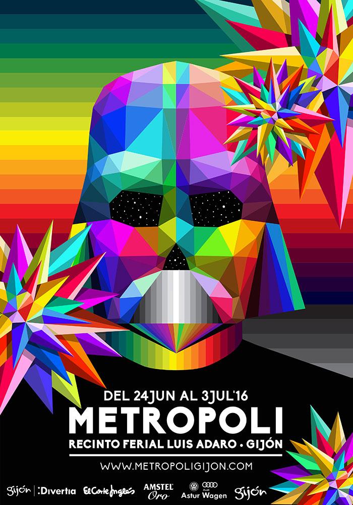 Metrópoli 2016 - cartel