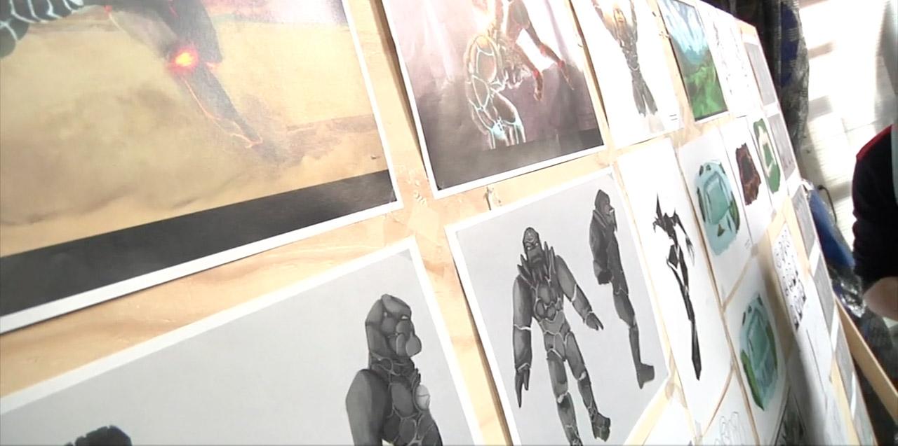 Moerakis, arte conceptual de lo nuevo de Animatoon