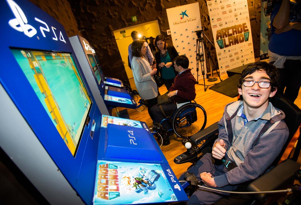 Nachete probando Arcade Land