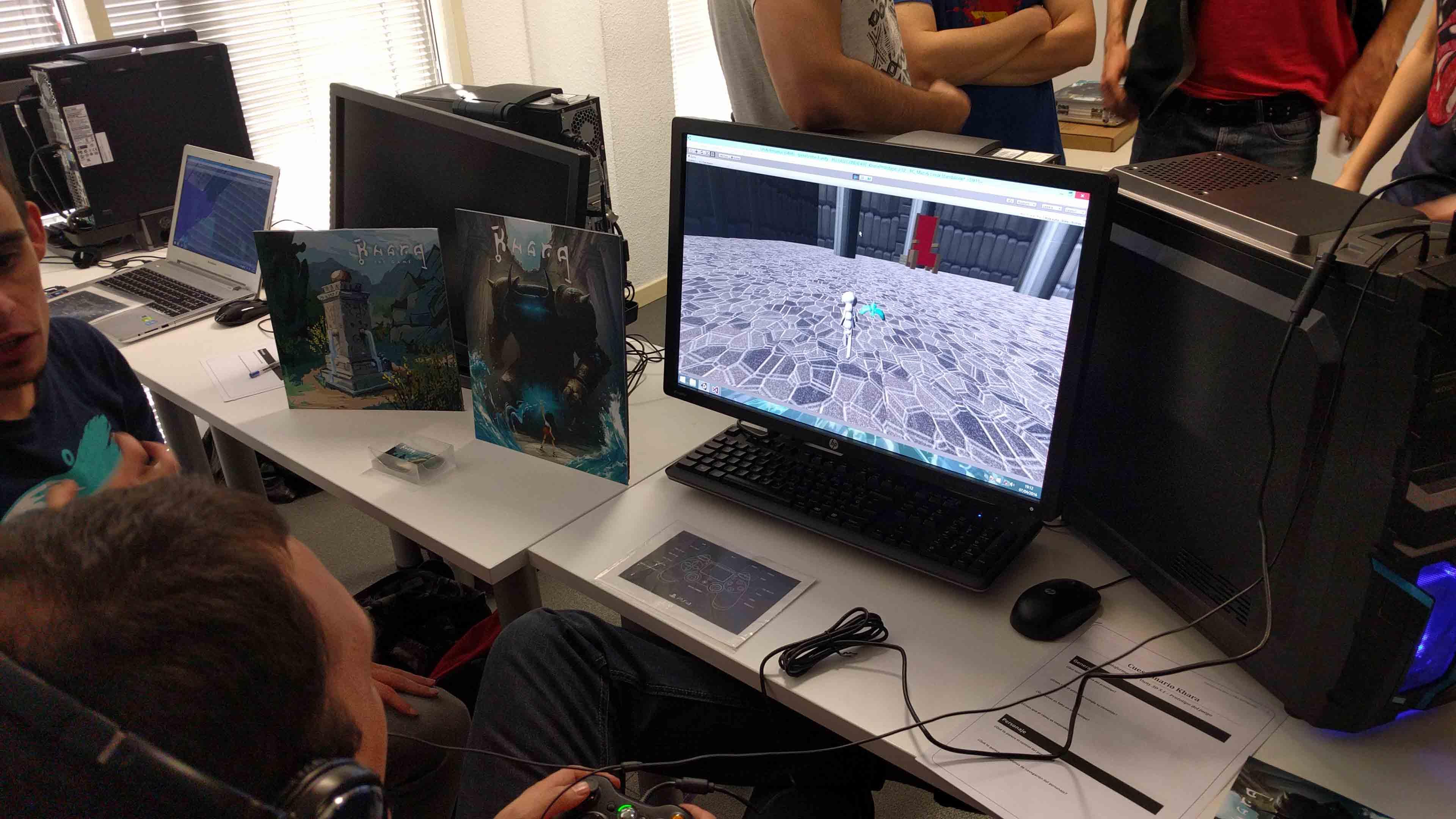 U-tad DNA Softworks foto de juego
