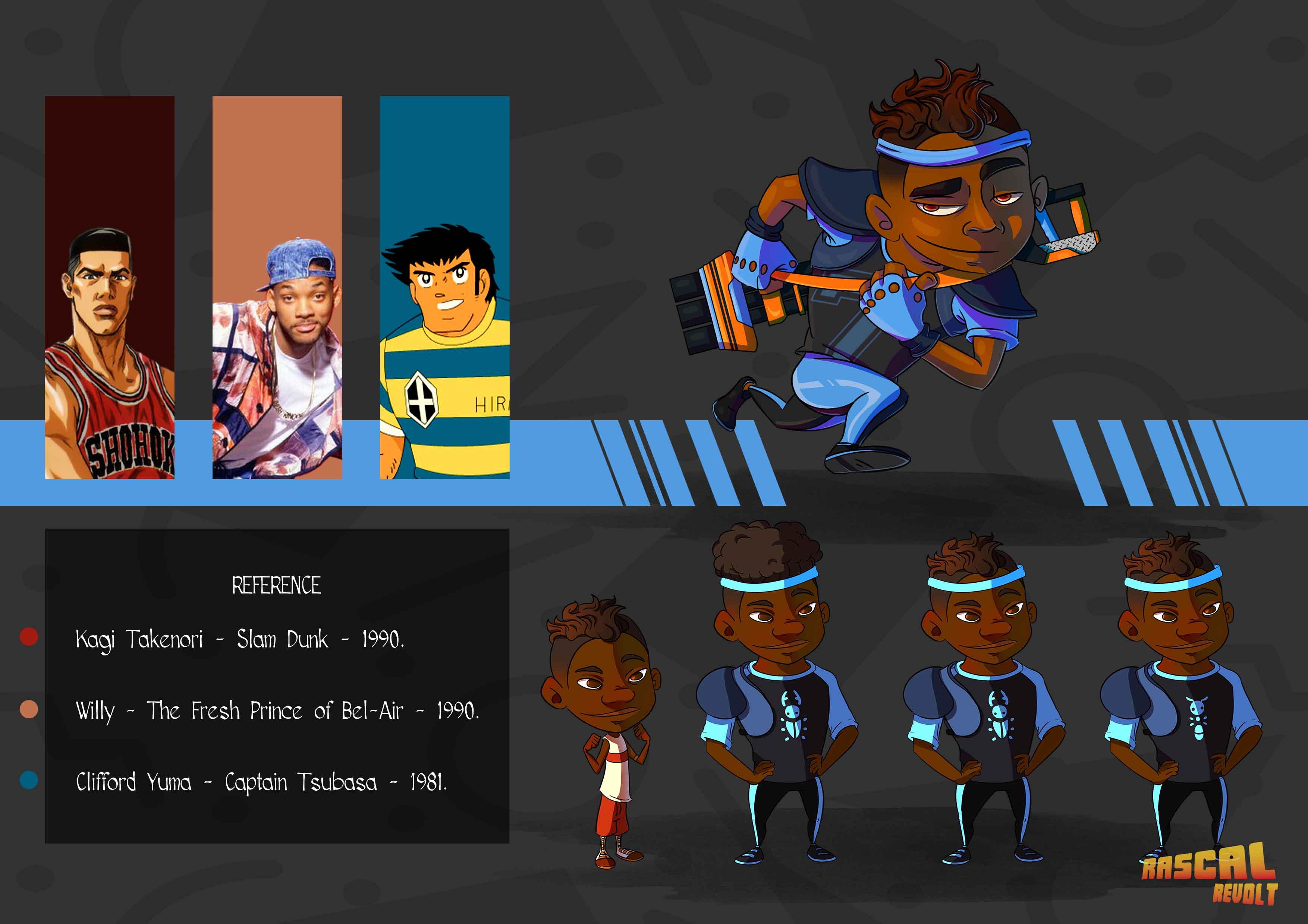 U-tad Seamantis Games 01 diseño personajes